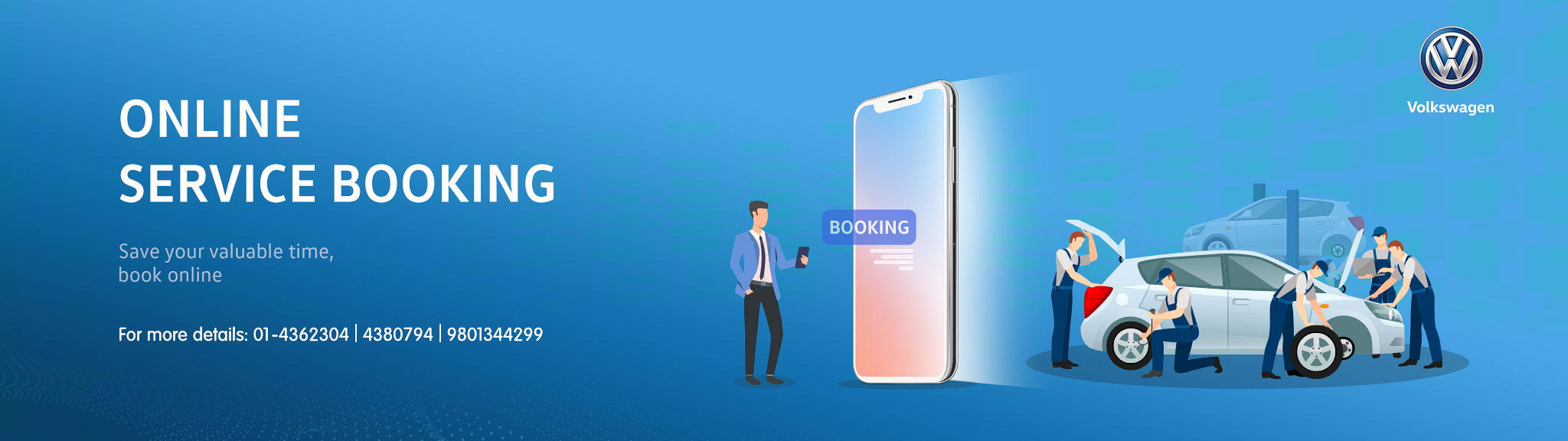 Online Service Booking