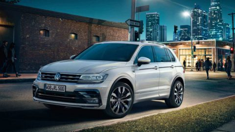 Tiguan - Cool, Calm and connected
